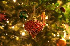 joulukuusi koristeet - stock photo