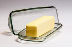 Stick of butter Stock Photos