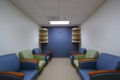 A front lobby, waiting area. Stock Photos