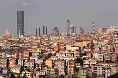 urban transformation - stock photo