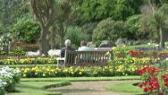 Abbey Park Stock Footage