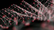 Net structure abstract background Stock Footage