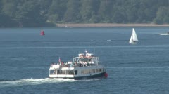Plymouth Sound Ferry Stock Footage