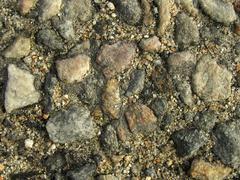 Stony soil Stock Photos