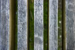 old fence - stock photo