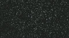 Snow Flakes 002 - Grey Dark - 24 fps Stock Footage