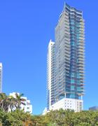 The Setai Condominium Miami Beach - stock photo