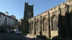 St Mary Magdelene Church Stock Footage