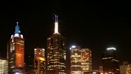 Newyear  2013 Melbourne Stock Footage