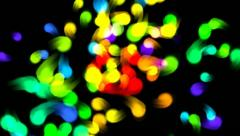 Colorful  Dots. Background Stock Footage