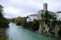 Stock Photo of st.francesco church in cividale del friuli
