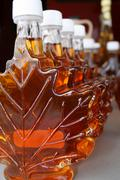 Maple Syrup Bottles For Sale 2 - stock photo