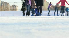 Skating 17 Stock Footage