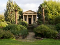 King William's Temple - Kew Gardens, London Stock Photos