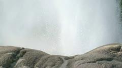 Pohutu Geyser close up Stock Footage