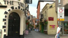 Exeter City Centre Stock Footage