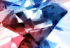 Diamonds background Stock Illustration