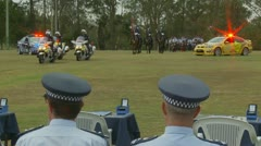 Queensland Police Graduation Ceromony (6) Stock Footage