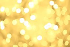 Golden bokeh background Stock Illustration