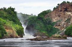Pictorial view of the murchison falls Stock Photos