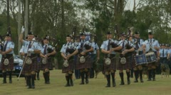 Queensland Police Graduation Ceromony (7) Stock Footage