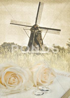 Stock Illustration of Dutch wedding