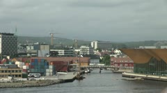 Norway Kristiansand town s Stock Footage