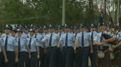 Queensland Police Graduation Ceromony (8) Stock Footage