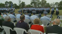 Queensland Police Graduation Ceromony (9) Stock Footage