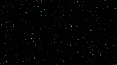 Snow Flakes 004 - 24 fps Stock Footage