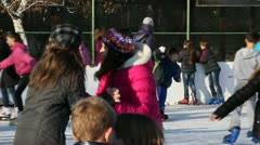 Skating 09 Stock Footage