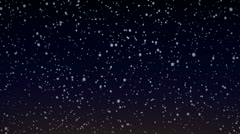 Snow Flakes 006 - 24 fps Stock Footage