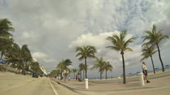 Fort Lauderdale Beach - stock footage