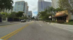 Downtown Fort Lauderdale Stock Footage