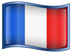 France flag icon Stock Illustration