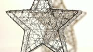 Stock Video Footage of Christmas decorations-stars