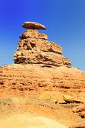 the mexican hat monument - stock photo