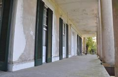 Stock Photo of Old Plantation Porch