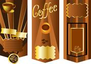 Coffee menu card Stock Illustration