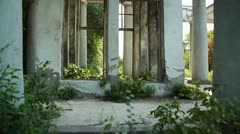 Stock Video Footage of Ruins 001