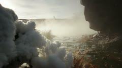 Yellowstone HotSpring 3074 Stock Footage