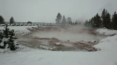 Yellowstone MudPots 3408 Stock Footage