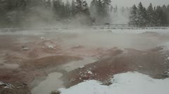 Yellowstone MudPots 3409 Stock Footage