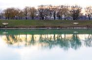 Zagreb jarun (jarunsko jezero) lake in croatia Stock Photos