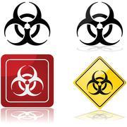 Biohazard sign Stock Illustration