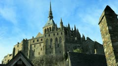 Mont Saint-Michel 03 Stock Footage