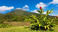 Stock Photo of costa rica panorama