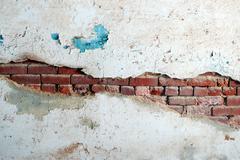 Brick Texture with mortoar Stock Photos