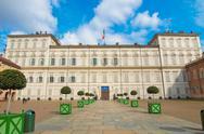 Stock Photo of palazzo reale, turin
