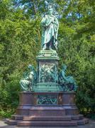 Peter cornelius monument Stock Photos